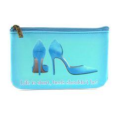 Mlavi Women's Life is Short Heels Shouldn't Be Coin Purse Wallet