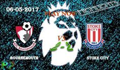 Bournemouth 2 - 2 Stoke City HIGHLIGHTS Manchester City, Manchester United, Soccer Predictions, Hull City, Stoke City, Barclay Premier League, West Bromwich, Middlesbrough, Burnley