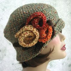 Women's Crochet Flapper Hat Pattern