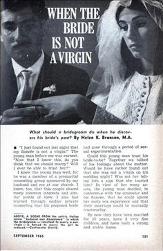 Loosing your virginity be easier was
