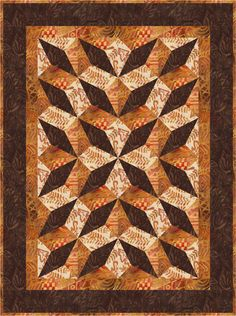 """Eileen Hoheisel experimented with the Corner Beam® tool, and came up with Triple Play.  You can make it a 20"""" x 48"""" tablerunner.  Or you can separate the blocks and make two completely different quilts, finishing at 20 x 27"""". This one is impossible without the Corner Beam® tool!  The pattern is available through me, pvquilt@gmail.com, QuiltWoman (http://www.quiltwoman.com/pvq-pinerose-designs-eileen-hoheisel ) or Checkers (http://checkerdist.com/category/patterns search for PineRose…"""