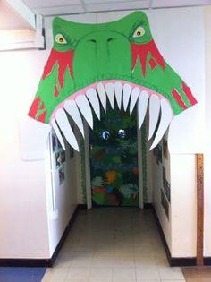 Como adentrarse a un mundo desconocido y jurásico? aqui tienes la opción #dinosaurios #decoracion