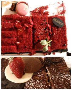 Cake Red valvet & tiramissu :)