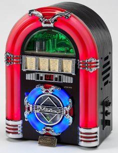 Mini Jukebox - CD, MW/FM radio, MP3 via USB port for ipod