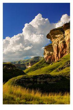 Mushroom Rock, Clarens, South Africa  Photo Credit: Inasia Jones