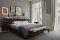 A hotel for homebodies: The Laslett in Notting Hill, London, feels like home only better. Housed in five interconnected Victorian townhouses, the hotel has Boutique Hotels London, Hotel Boutique, London Hotels, Notting Hill, Interior Exterior, Interior Design, Room Interior, Suite Principal, Victorian Townhouse