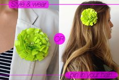 Duct Tape Projects, Duct Tape Crafts, Washi Tape, Michelle Phan, Duct Tape Flowers, Diy Flowers, Flower Ideas, Diy Fashion Projects, Diy Projects