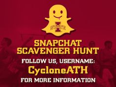 Want to win some great prizes? Follow us on Snapchat today, Username CycloneATH to find out how.
