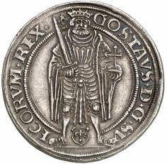COIN, Sweden, Coronation coin, Gustav Vasa, 1528 -- MYNT, Kröningsmynt, Gustav Vasa, 1528