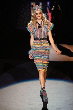 Anna Sui Spring 2012 #fashionweek