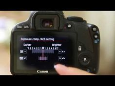 Canon REBEL EOS SL1 (100D) menu guide