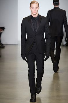 Calvin Klein Collection Fall 2014 Menswear Collection Slideshow on Style.com