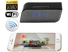 WIFI Security Clock Camera - Deals and Liquidations