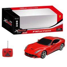 Ferrari F12 Berlinetta R/C scala 1:18 La riproduzione fedele in scala 1:18 della Ferrari F12 Berlinetta R/C dotata di controller single band. #autoradiocomandate #auto #ferrari #regaliperbambino #regaliperbambini
