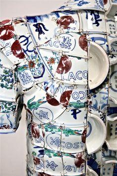 Porcelain Costumes by Li Xiaofeng