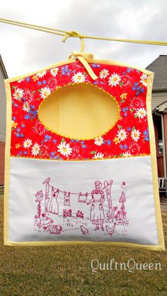 Want this pattern!!!  A pattern by Catherine Baynes called Monday is Washing Day.