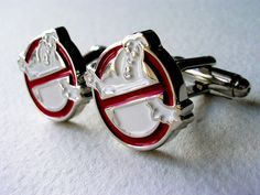 Ghostbusters Cufflinks - Stainless Steel