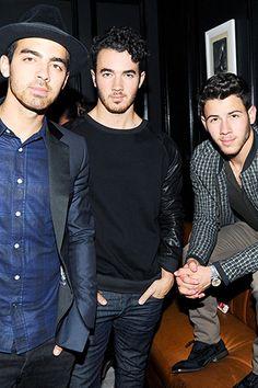 Joe Jonas, Kevin Jonas, and Nick Jonas.