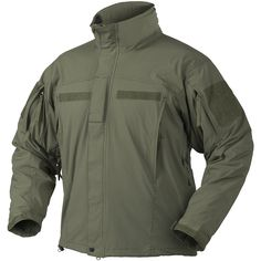 Helikon Soft Shell Jacket Level 5 Ver. II Olive Green   Soft Shell   Military 1st