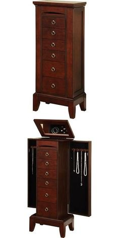 Jewelry Boxes 3820 Large Deluxe Jewelry Organizer Lori Greiner Wood