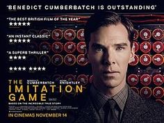 The Imitation Game is a 2014 American historical drama thriller film directed by Morten Tyldum, with a screenplay by Graham Moore loosely based on the biography Alan Turing: The Enigma by Andrew Hodges (previously adapted as the stage play and BBC drama Breaking the Code). It stars Benedict Cumberbatch as real-life British cryptanalyst Alan Turing, who decrypted German intelligence codes for the British government during World War II.