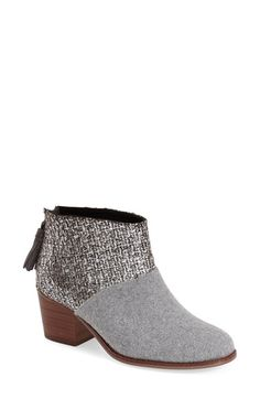 TOMS 'Leila' Ankle Bootie (Women) available at #Nordstrom