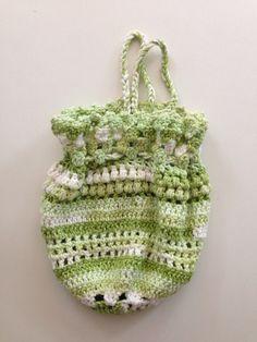 Handmade crochet purse crochet bag cotton bag chrochet purse  cotton purse crochet pouch (15.00 USD) by BsCozyCottageCrafts