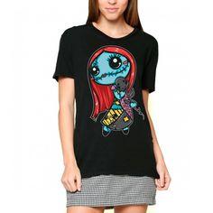 """T-shirt Gothique Dark World """"Sally""""."""