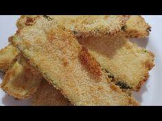 (7989) ZUCCHINE ARIA FRITTE CROCCANTI FRIGGITRICE AD ARIA - YouTube Actifry, Frittata, Cornbread, Ethnic Recipes, Youtube, Food, Millet Bread, Essen, Meals