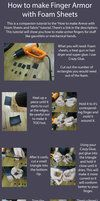 How to make Armor with Foam Sheets and Fabric by *RuffleButtCosplay on deviantART