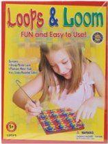 Pepperell Braiding Loops & Loom Kit LOOP1; 6 Items/Order