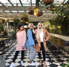 ✨p i n @ aqadri✨ Islamic Fashion, Muslim Fashion, Modest Fashion, Fashion Outfits, Modest Clothing, Clothing Styles, Cute Modest Outfits, Modest Wear, Outfits For Teens