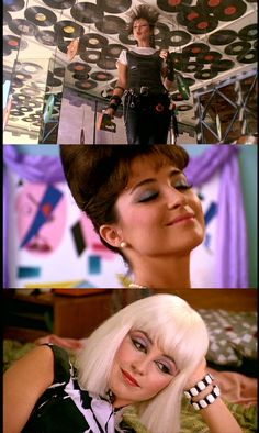 Annie Potts in 'Pretty in Pink'  , what an impression she made