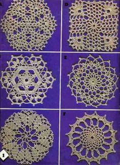 Art: crochet motifs 1
