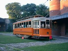 Baltimore Streetcar Museum.  Just one of the attractions you'll pass if you're jogging down Falls Road.