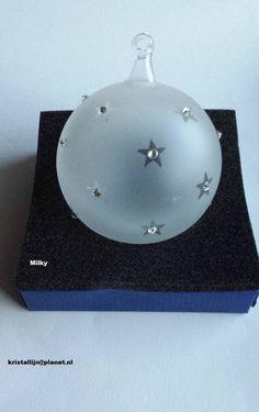 """Swarovski, Exclusive Christmas Ball Ornament """"Milky"""" #Swarovski"""
