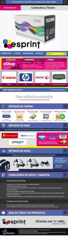 Cliente: Esprint / Plantilla editable de Mercadolibre / Propiedad Idea Digital / 2014 / #Mercadolibre #Design #Graphicdesign #diseño #diseñográfico #Ventas #creative #art #business #flatdesign #marketing #art #artdesign #publicity #marketingweb #web #webdesign #plantilla #ideadigital  Visítanos: www.ideadigital.com.ve