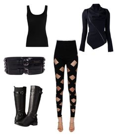 Sith cosplay idea, just add cape by maggie-jacobson on Polyvore featuring polyvore and art