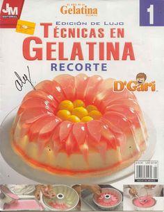 El Arte de la Gelatina Floral # 01 Técnicas en Gellatina Recorte - Gelatinas.Flanes.Lety - Álbuns da web do Picasa