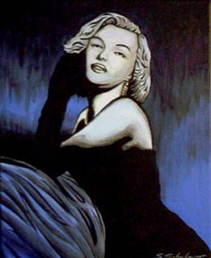 Gemaelde von Marilyn Monroe