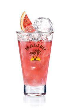 Malibu 'Twisted Pink' Cocktail