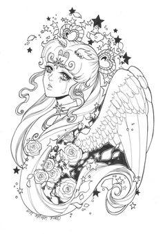 Sailor Cosmos by Dar-chan.deviantart.com on @DeviantArt