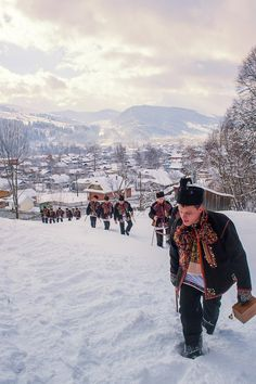 In the Carpathian Mountains in western Ukraine Orange Revolution, Russia Ukraine, Carpathian Mountains, Famous Castles, Winter Images, Largest Countries, Culture, My Heritage, Eastern Europe