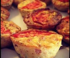 Recipe Mini Muffin Quiches by Skinnymixer - Recipe of category Baking - savoury(Savory Muffin Thermomix) Lunch Snacks, Savory Snacks, Cantaloupe Recipes, Radish Recipes, Quiche Muffins, Mini Muffins, Breakfast Muffins, Baby Food Recipes, Cooking Recipes