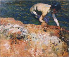 looking-for-shellfish-1905.jpg (1490×1233)