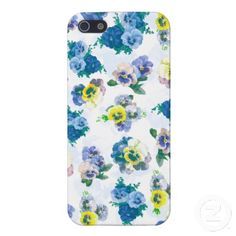 Shop Blue Pansy Flowers floral pattern iPhone Case created by inspirationzstore. Cool Iphone Cases, Cool Tech, Plastic Case, Pansies, Tech Accessories, Your Design, Display, Cool Stuff, Wallpaper