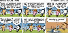 Pearls Before Swine Cartoon for Jun/30/2013  The Pun Too Far  :D