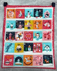 Make Your Own Dashwood Advent Calendar – Fabricate Christmas Bunting, Christmas Icons, Christmas Sewing, Christmas Fabric, Christmas Makes, Merry Little Christmas, Christmas Projects, Xmas, How To Make Box