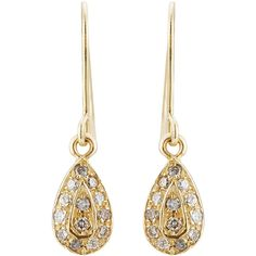 Carolina Bucci 18k Yellow Gold Earrings (1,945 CAD) ❤ liked on Polyvore featuring jewelry, earrings, accessories, brinco, ear, gold, gold jewellery, gold earrings jewelry, 18k gold earrings and 18k gold jewellery