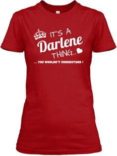 It's a Darlene THING
